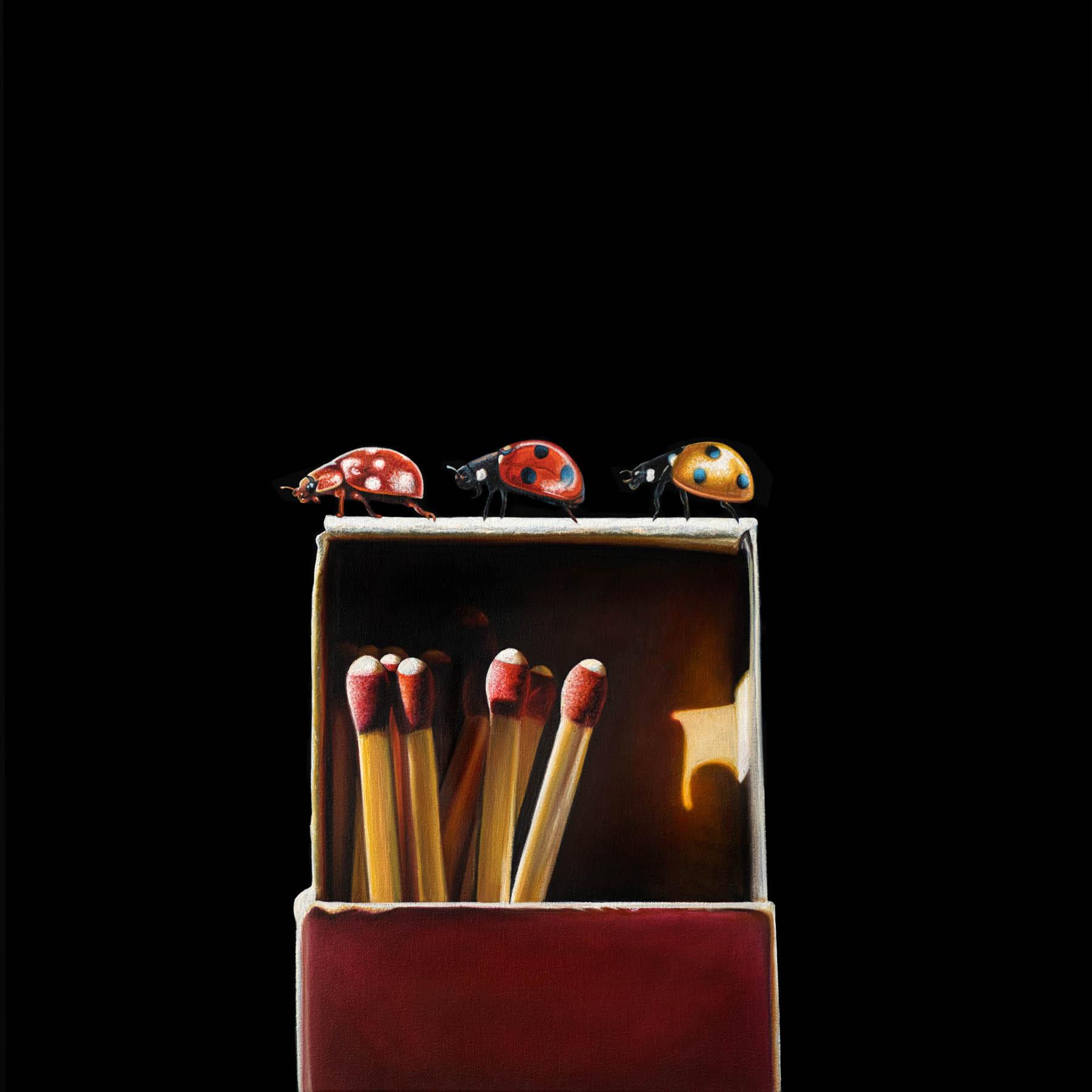 Three Ladies | 24 x 24 | Oil on canvas