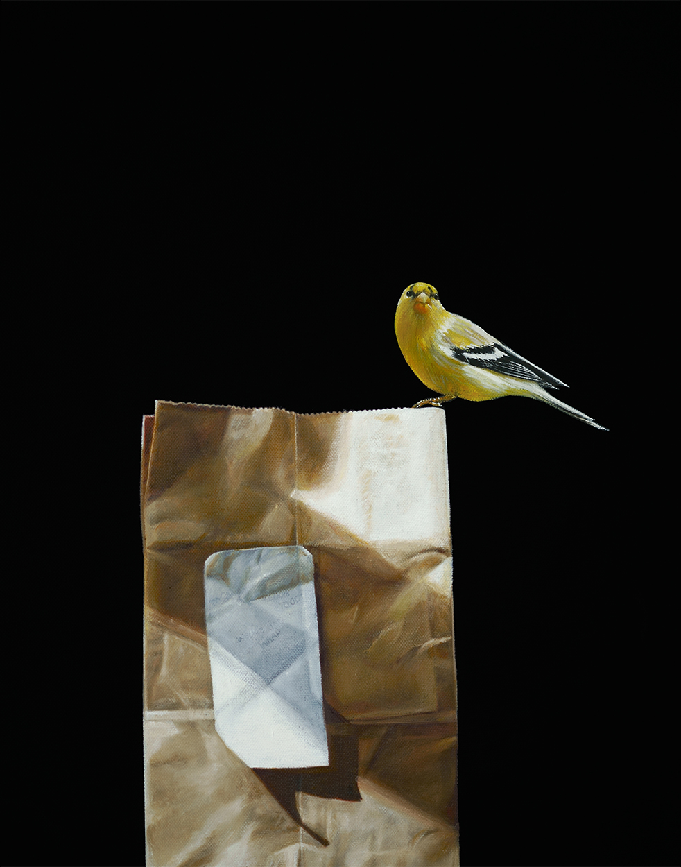 Take Out | 16 x 20 | Oil on canvas |  SOLD