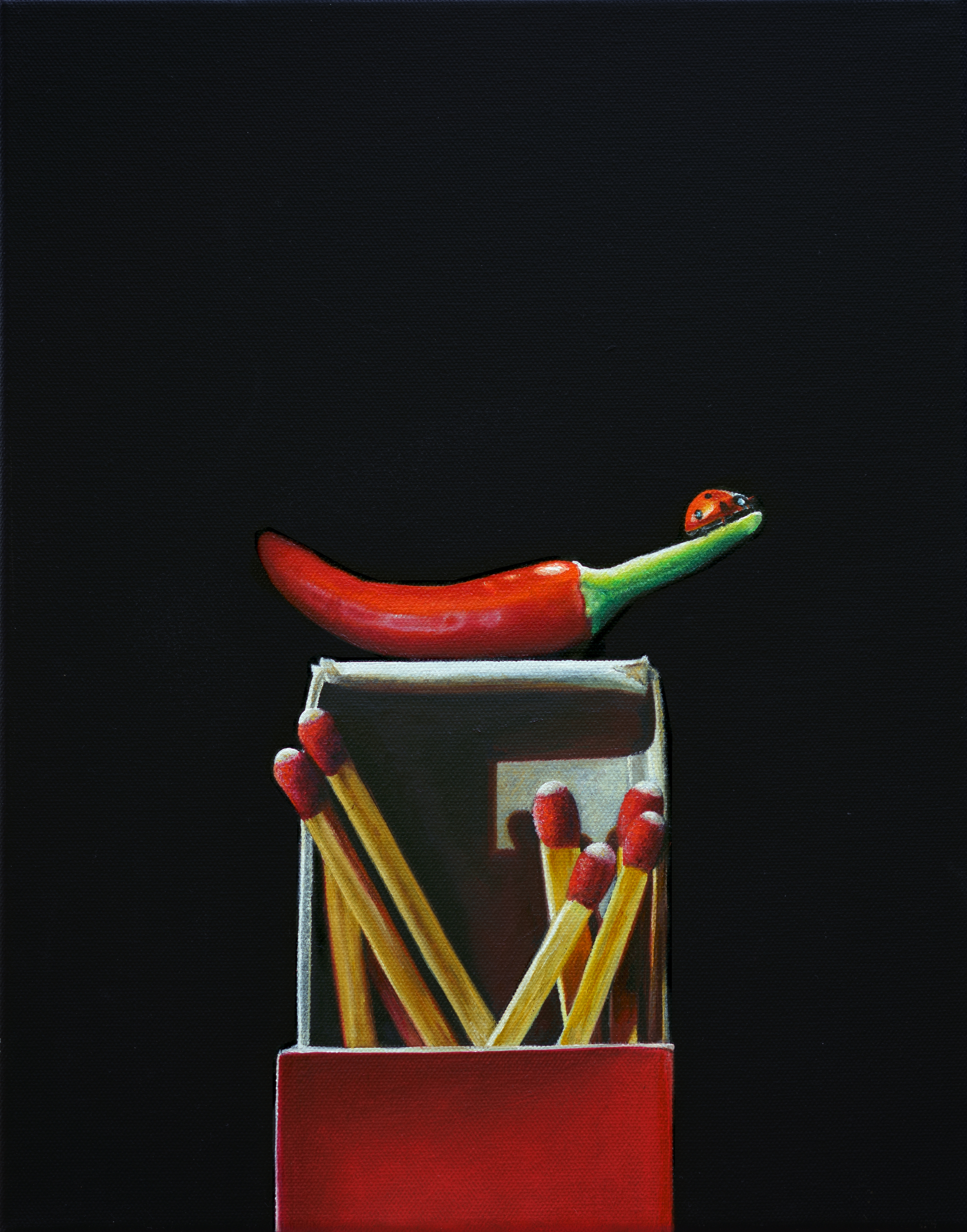 Red Hot | 11 x 14 | Oil on canvas