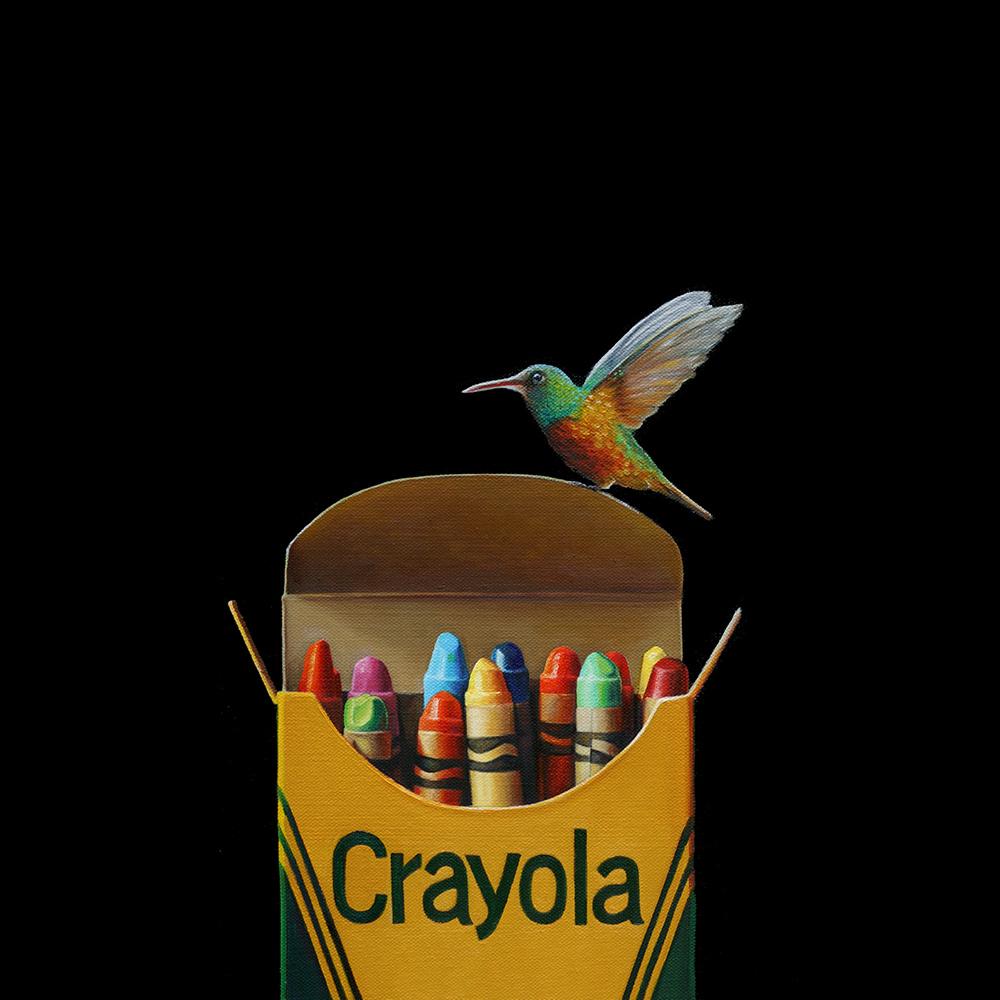 Crayola No. 6 | 16 x 16 | Oil on canvas