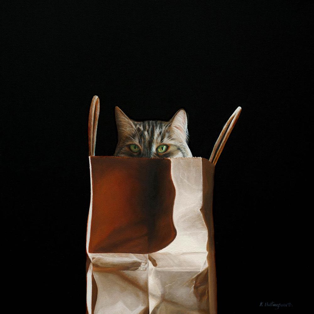 Hide & Seek | 16 x 16 | Oil on canvas