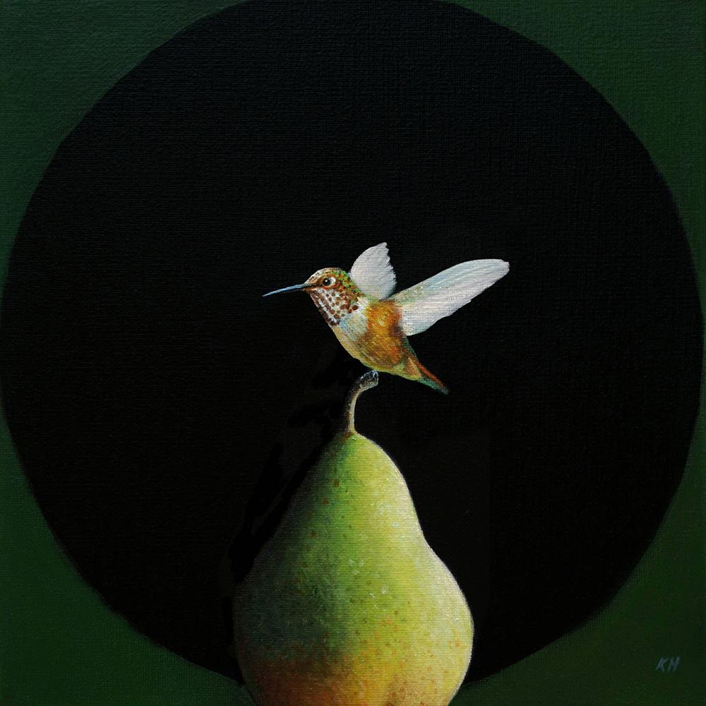 Bartlett | 10 x 10 | Oil on canvas