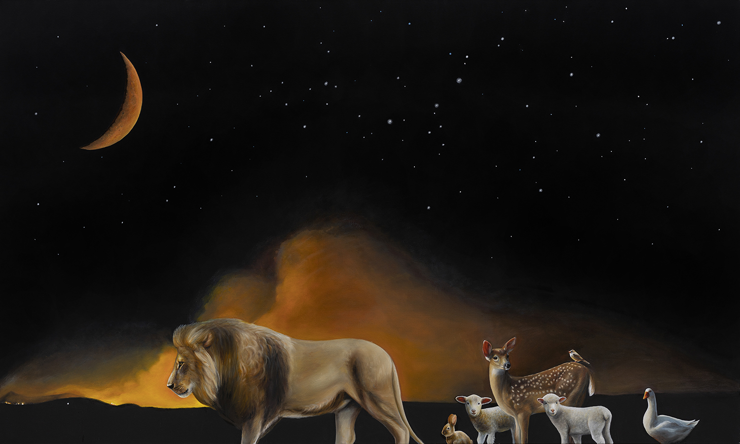 Exodus | 36 x 60 | Oil on canvas
