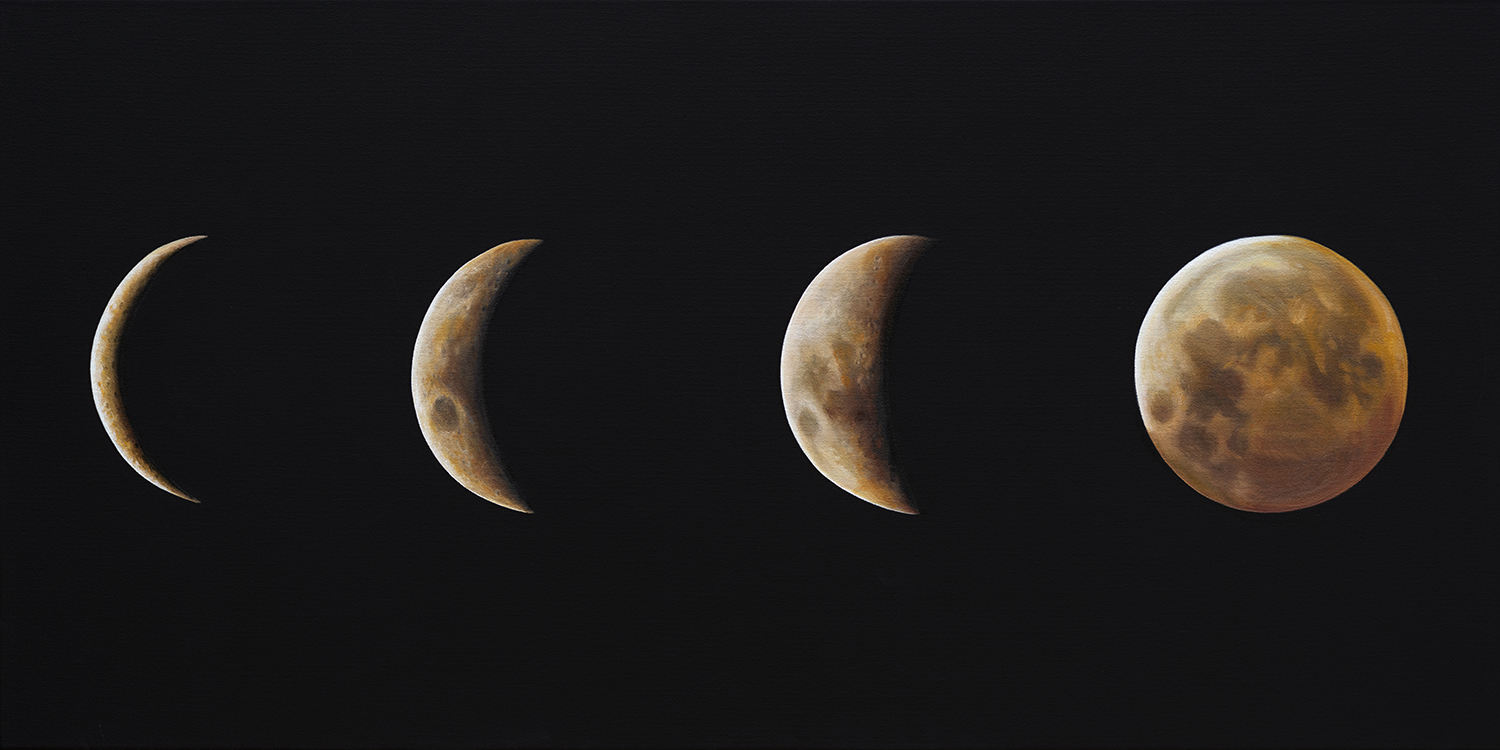 Phases | 24 x 48 | Oil on canvas