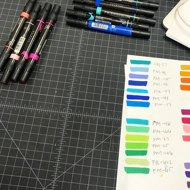 New semester = new projects.... time to get back to the basics.  #rendering #prismacolor #prismacolormarkers #design #colors #markers #auburn #industrialdesign #newproject #ID #diseño #colores