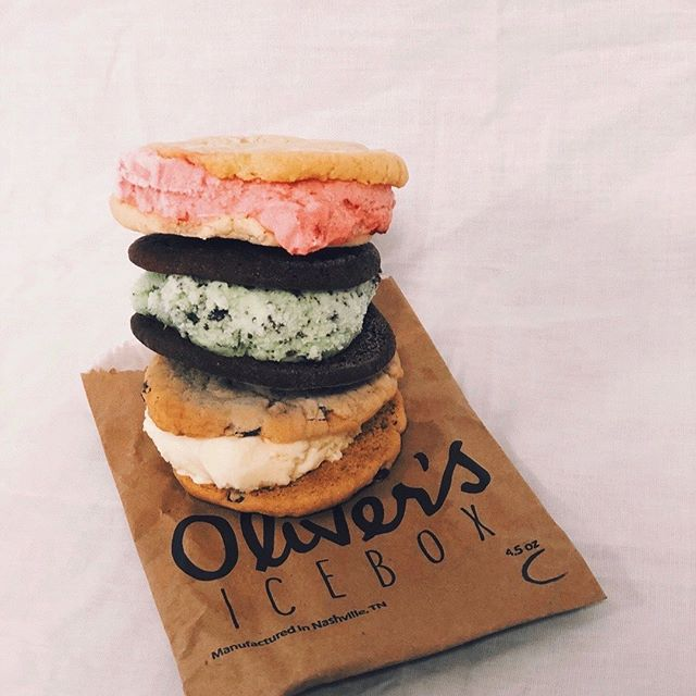 Come stay cool with us this afternoon with some ice cream sandwiches and fresh produce 😉 also, grab some candles/bath bombs to keep your evening chill even after the market.