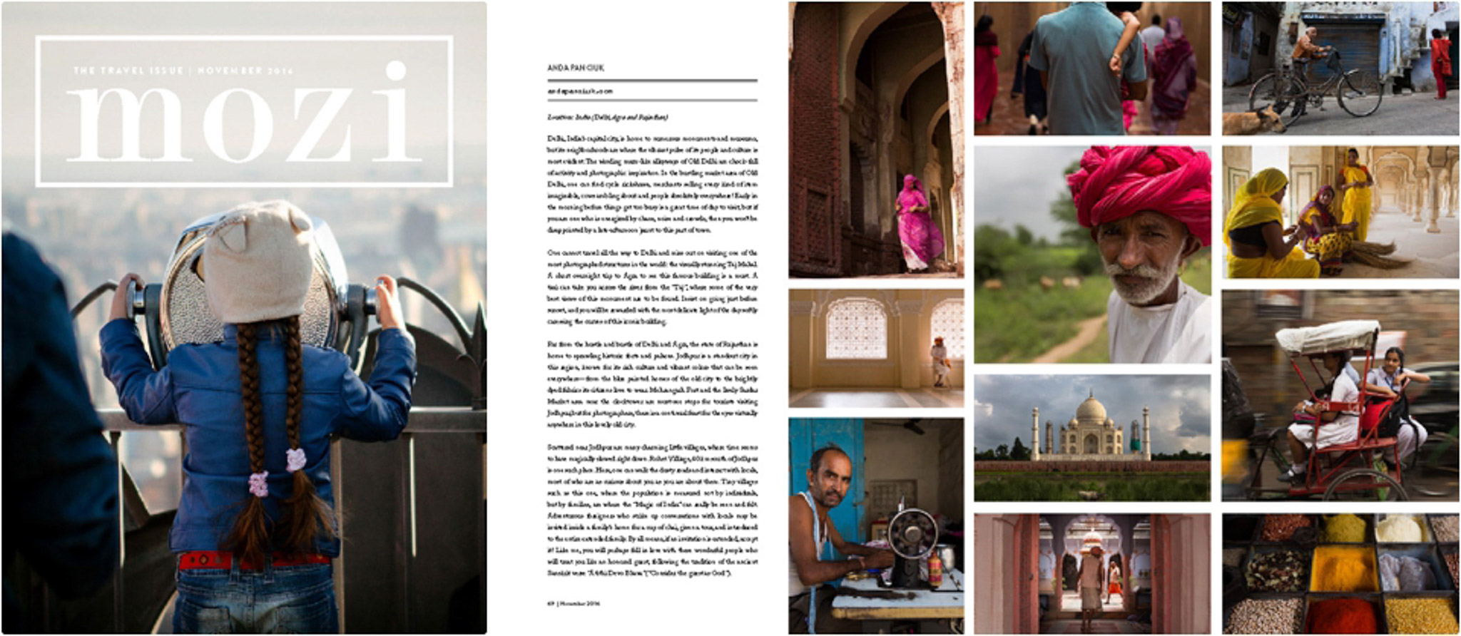 MOZI MAGAZINE - THE TRAVEL ISSUE