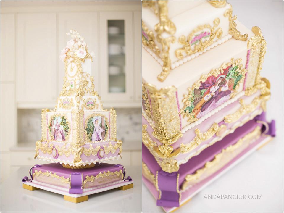 Rococo cake   Anda Panciuk Montreal Cake Photography