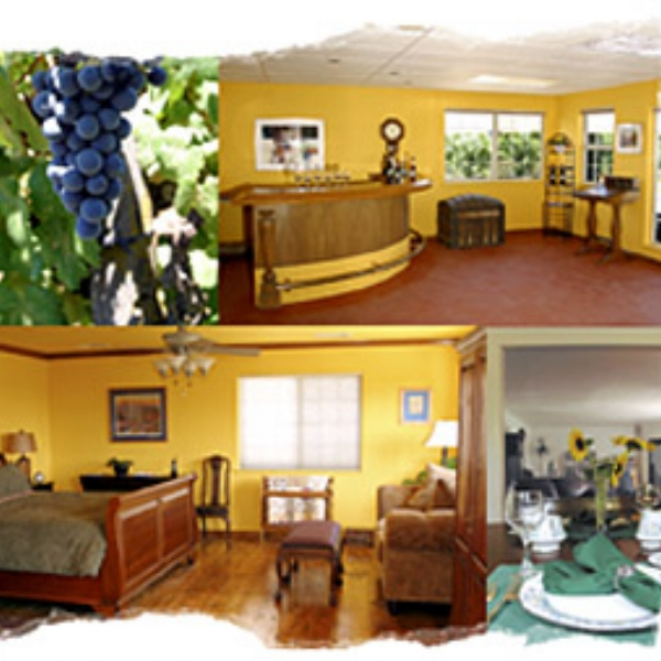 Cedar View Winery  - Sequoia View Bed and Breakfast is an AgroBnb, located on 20 acres with an estate vineyard, is named for its panoramic views of nearby Sequoia and Kings Canyon National Parks.