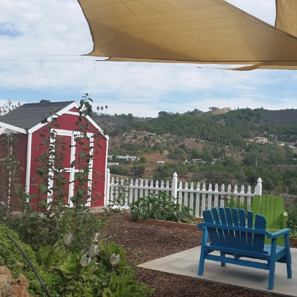 Morning Song Farm  - Tucked in the hills of San Diego, our organic subtripical farm is a great centrally located getaway destination. We have two homes on our 20 acre farm to choose from.