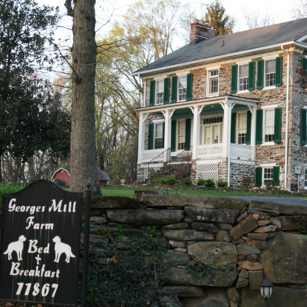 George's Mill Farm B&B  - Georges Mill Farm B&B offers the finest in amenities for those seeking a perfect getaway in the rural Virginia countryside.  The Georges Mill Home is a Civil War era Stone house.