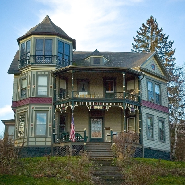 Catskill Lodge  - Built in 1893  ,   our beautiful Queen Anne home offers historic charm, modern amenities, and a relaxed, communal feel. We are 2 miles from Windham Mtn, 7 miles from Hunter Mountain.