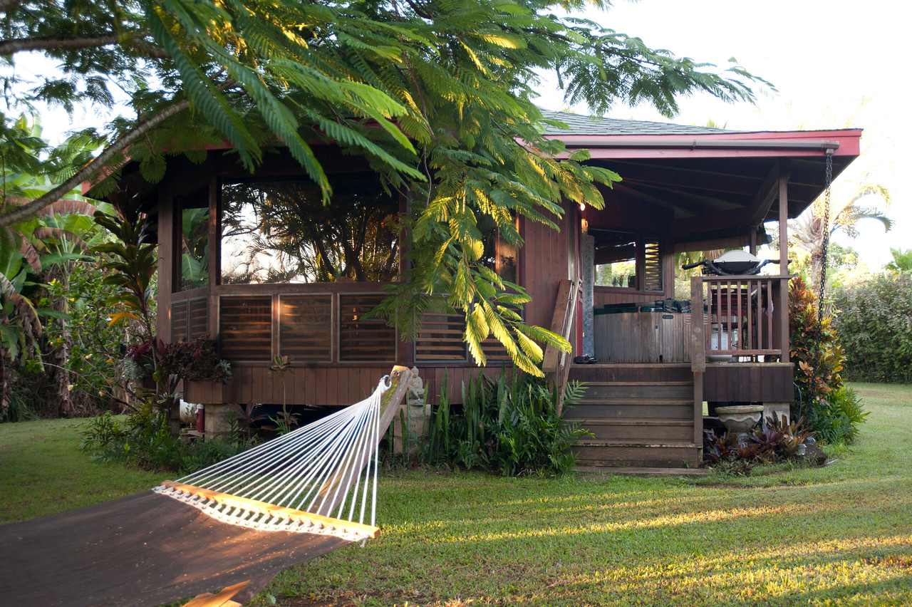 Fehring Farms  - Perfectly located on our 7.6 acre, magical North Shore of Kauai organic farm and within walking distance to one of Hawaii's most beautiful beaches.