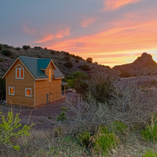 Double Check Ranch - Spend a day or two at our parent ranch at Cold Creek, in the newly built Cabin (Tiny House) which is located near a lovely stream. Starting at $69/night.