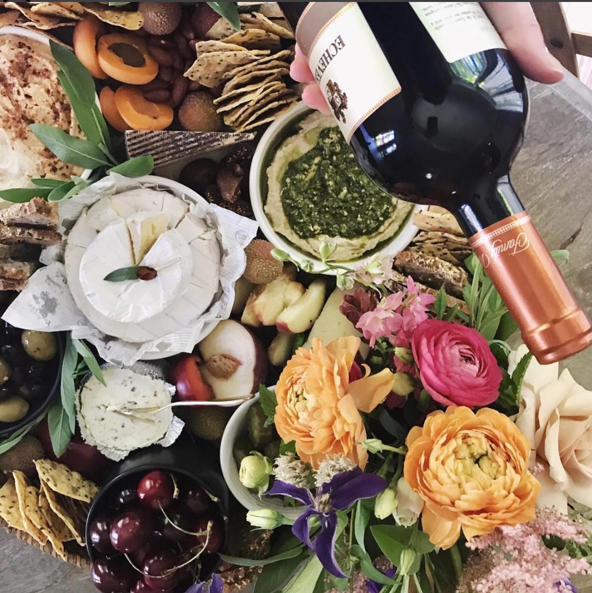 food x flowers -