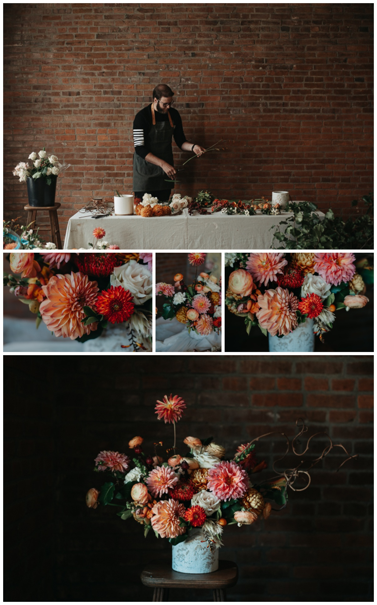 So now we're at photos from the styled shoot that I photographed--because these and the images above are all I captured this month. Ugh. I hate being busy. I feel like I've been playing catch-up for the last three months and I really really hate it. I didn't realize how much I hated it until now. I like to have blank spaces of time so I can do things like baking and taking random photos and writing poetry--and those aren't just fun things I like to do, they're things that I want to be priorities. So yeah, something might have to change.   Anyways. My friend Robert from  Nephew and Co.  put this styled shoot together and it was awesome and beautiful.