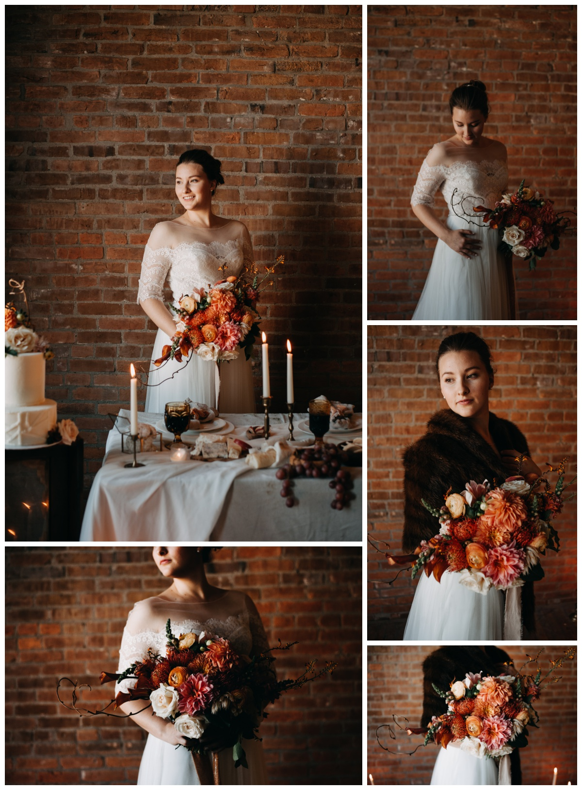 "These photos are also from the styled shoot and I thought I would share just a tiny secret about the way that I shoot with window light. When I first started out, I was taught to think, ""The more light the better. Even lighting is the absolute best kind of light--shadows are bad. We want the whole person illuminated."" (Haha, I almost wrote eliminated!) And to that I say, ""Gross."" I can't stand even lighting. It's super boring. This is what I LOVE to do (and it's a technique that I learned in a class that was taught by a really really good photographer so I know it's legit) and it's a super simple thing that makes a HUGE difference. Are you ready?  Turn her body away from the light, and turn her face back into it.  It will be incredibly slimming and highlighting--rather than just flat or even lighting. And the more of a contrast between the two, the moodier it will become. Just to prove my point, I'm going to do a comparison of the two styles below (towards the window on the left, away from the window on the right). NOW let me just say--neither of these are wrong or right inherently. But one is wrong for me. If you're a photographer--don't feel like you always need to follow the ""rules"". Find what looks the best to you. I mean, don't be naiive and go crazy--but learn the rules so that you can break them and break them well."