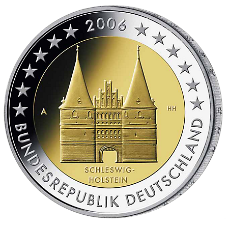 2€ . Holstentor 2006
