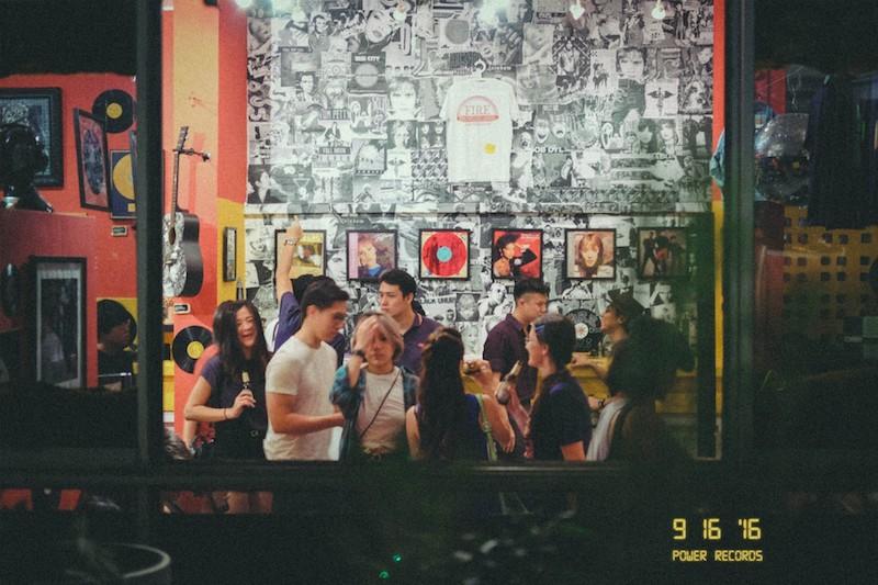 Power Records Opening Night (16 Sept 2016)