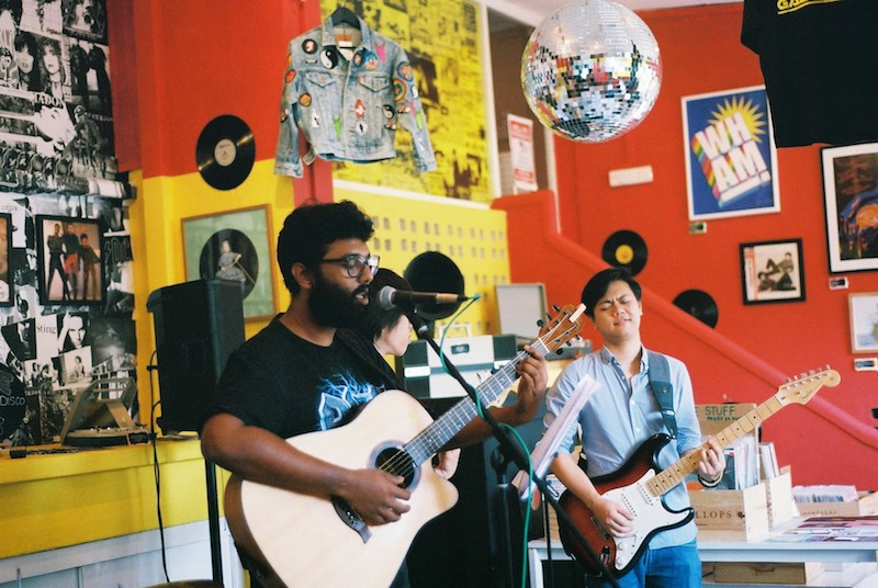 Blues band Shak & The Baits at Kult Gallery (24 Sept 2016)