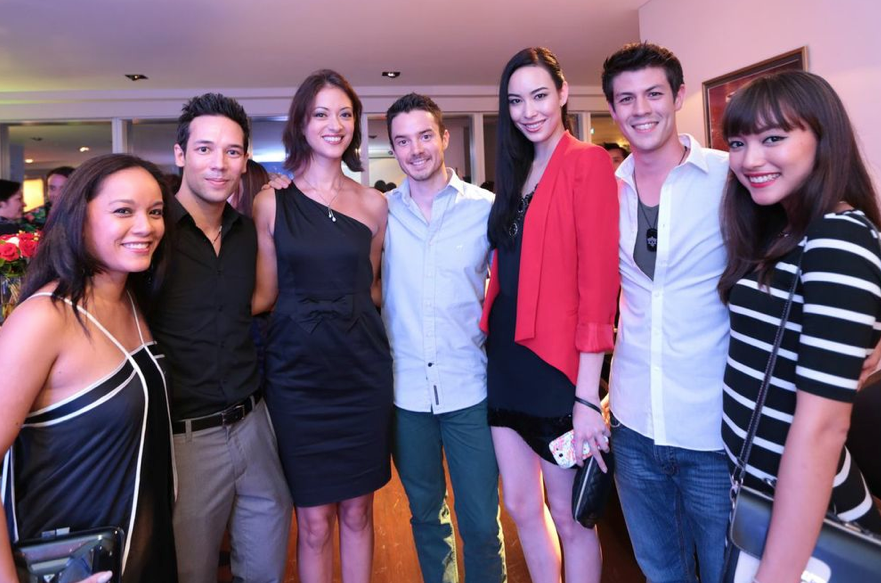 Celebrities Zurina Bryant, Justin Bratton, Linda Black, Oli Pettigrew, Model Sofia Wakabayashi, MTV VJs Alan Wong and Hanli Hoefer