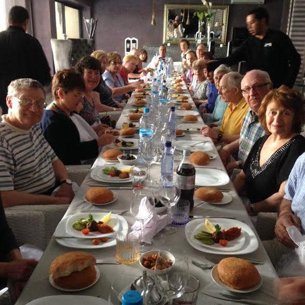 JR Tour - Morocco - Last lunch at Ksar Anika - JL