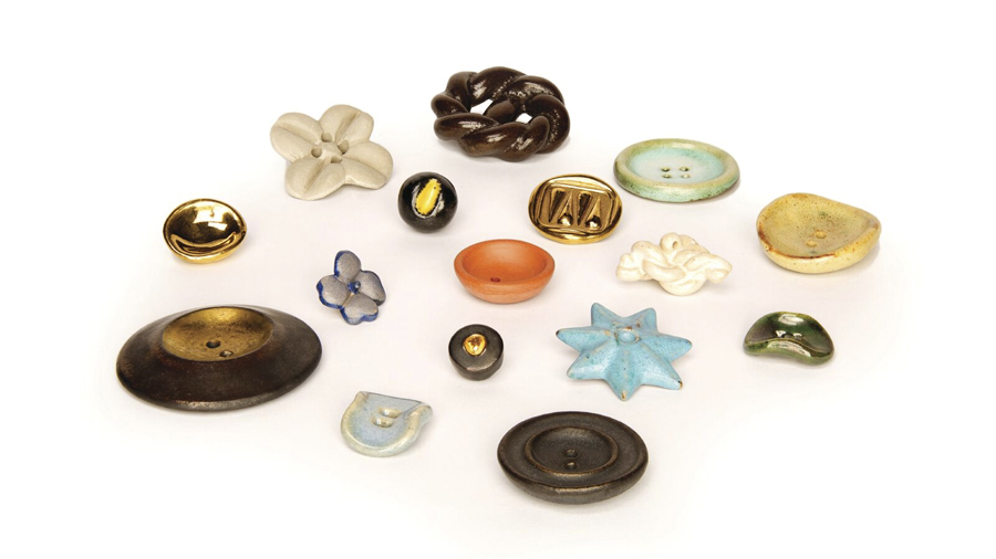 Buttons by Lucie Rie