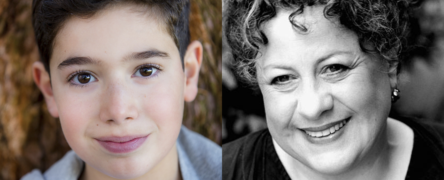 Aaron Gelkoff (photo by Craig Topham) and Sue Kelvin