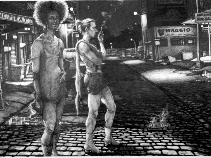 """Ode to the Meatpacking District  