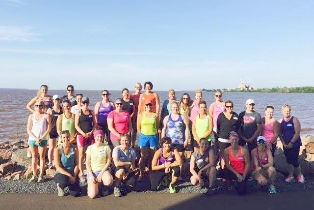 WhistleStop 10K & Half Marathon Training Group (Photo Credit Ignite Fitness Studio)