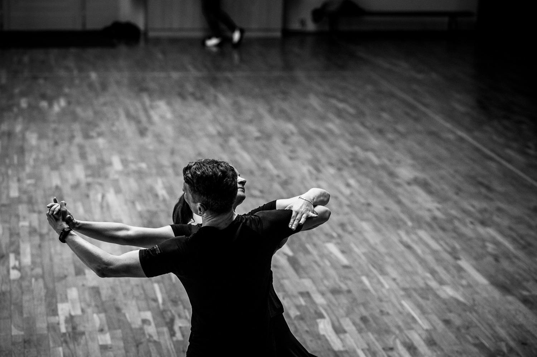 Tanzclub Gruen-Gold Goerlitz. Beate Schmidt und Olaf Schmidt, Senioren II A Standard.//Foto: Pawel Sosnowski