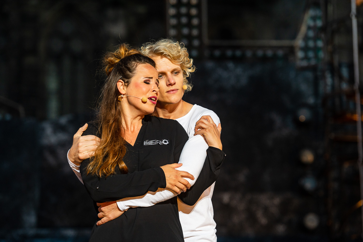 Magdeburg, 14.06.2018. Jesus Christ Superstar, Rock-Musical in zwei Akten. Gesangstexte von Tim Rice. Musik von Andrew Lloyd Webber. Deutsch von Anja Hauptmann. DomplatzOpenAir. Premiere, 15. 6. 2018.