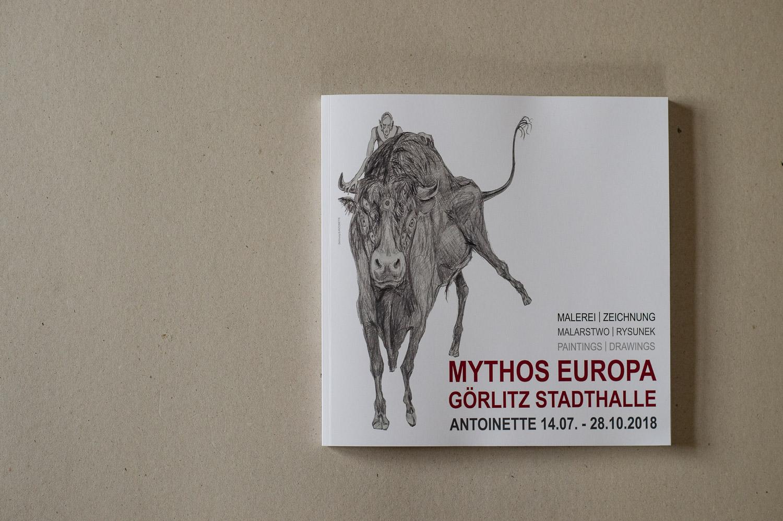 Goerlitz, 12.11.2018. Mythos Europa, Ausstellungskatalog.//Foto: Pawel Sosnowski www.pawelsosnowski.com