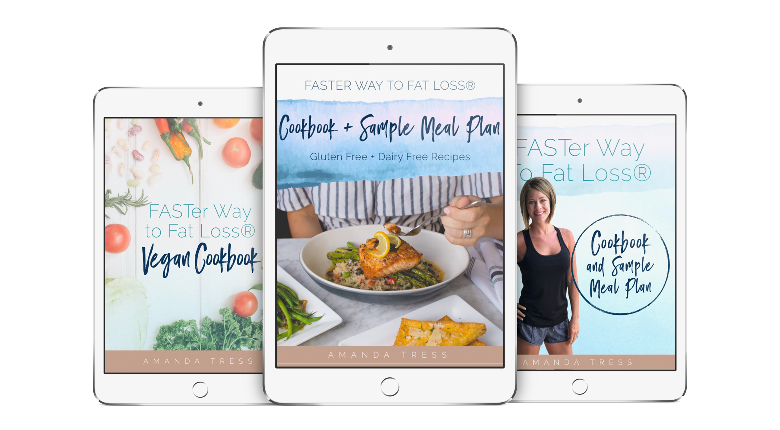 FASTer Way to Fat Loss Triple Pack Cookbooks -