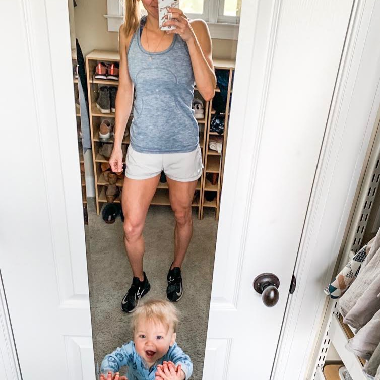 "Jamie Davidson - ""Finding the FASTer Way was just what I needed during the busy-ness of being a mom. It's so easy to forget to take time for yourself but it is so necessary! Sometimes I work out with my little man by my side (or crawling all over me), sometimes I sneak away to the gym while hubby is home, and sometimes I squeeze in my workout at home while my little man naps. I make time to take care of myself so I can be a better mom! I love being able to show my little man from the very beginning that health, fitness, and nutrition is something I value! #momlife is the best life and becoming a FASTer Way to Fat Loss coach has allowed me to follow my passions while staying home with my boy!"""