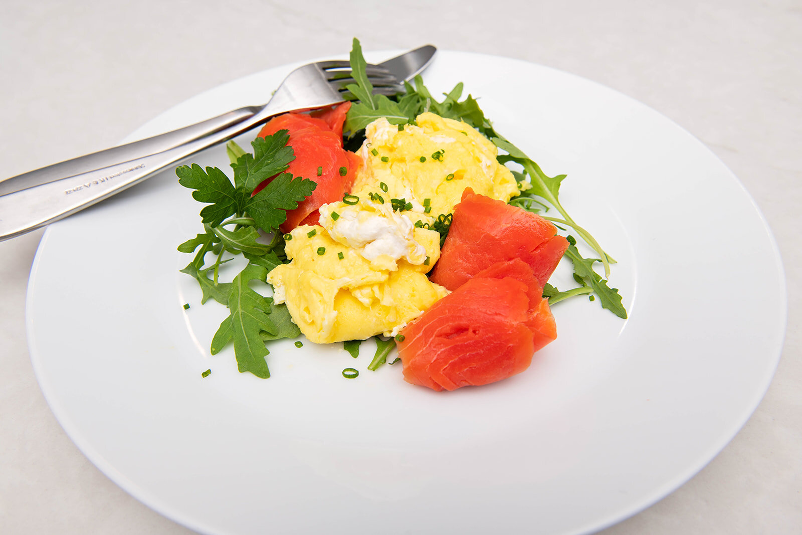 eggs with smoked salmon — faster way to fat loss® created