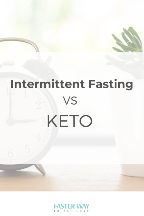intermittent fasting 20x more effective than keto diet