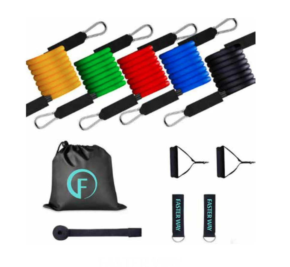 - FASTer Way Strength Resistance Bands