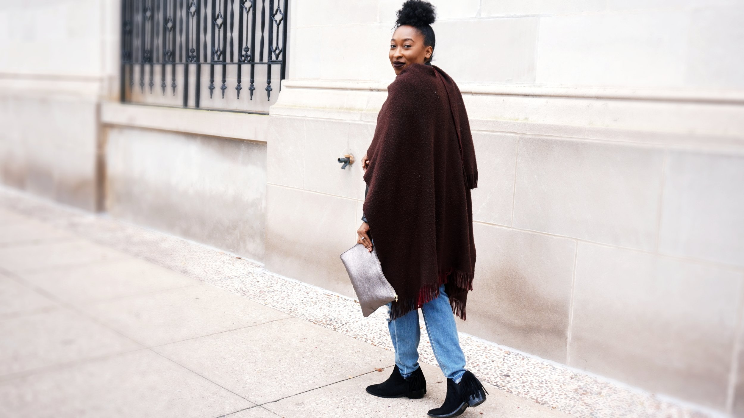 Fall Cape Outfit