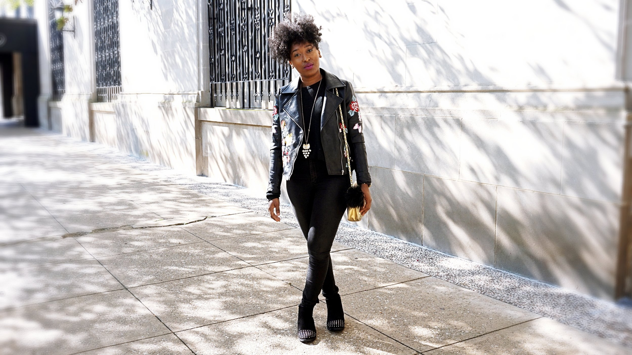 Leather Jacket Outfit.