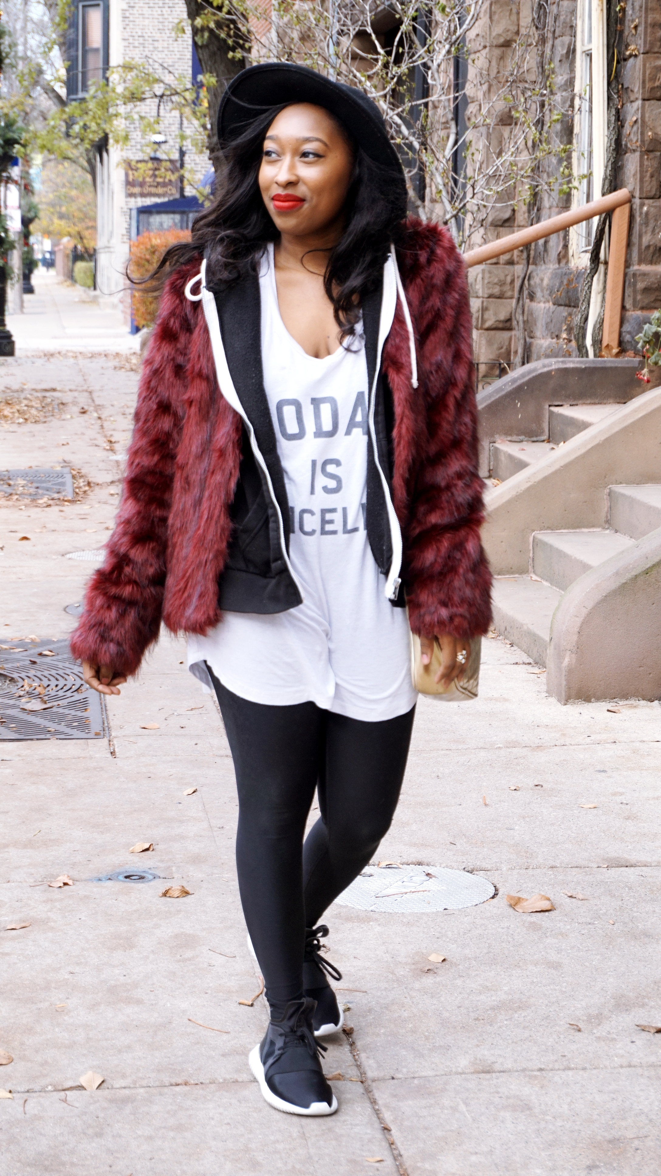Casual Fur jacket
