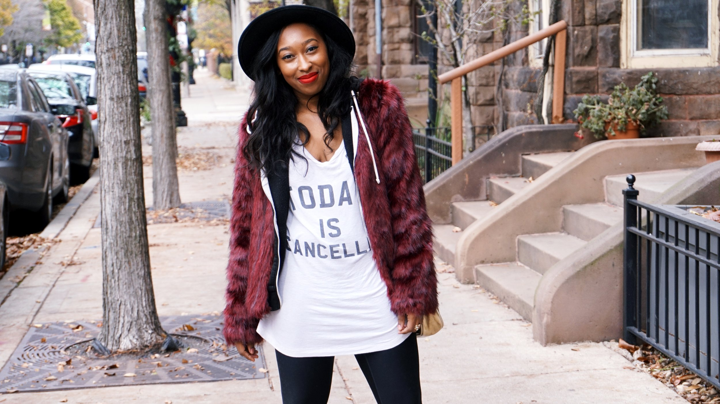 How To Style a Oversized Graphic T
