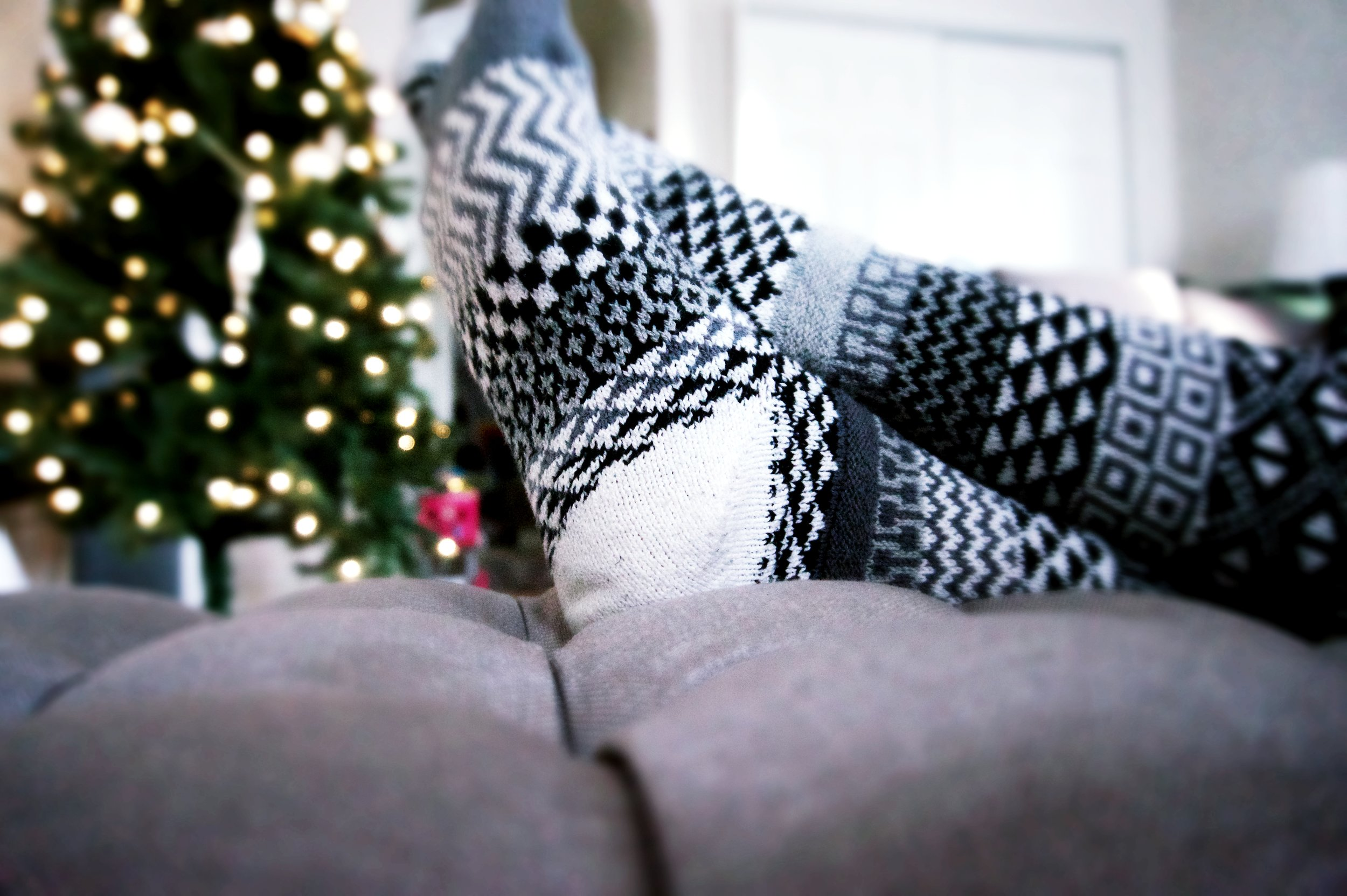 Solmate Socks Black & White