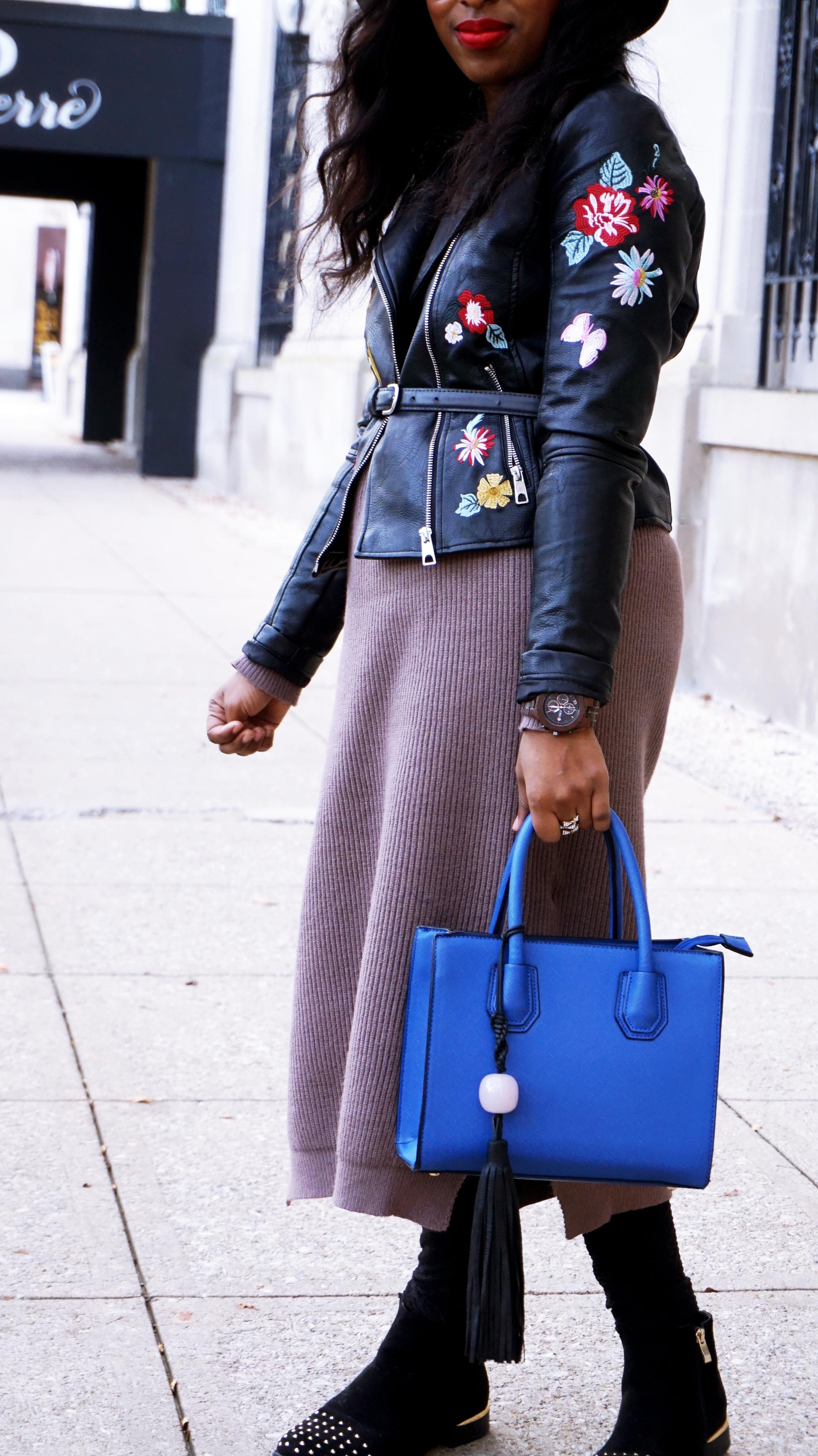 AMI Clubwear Sweater Dress