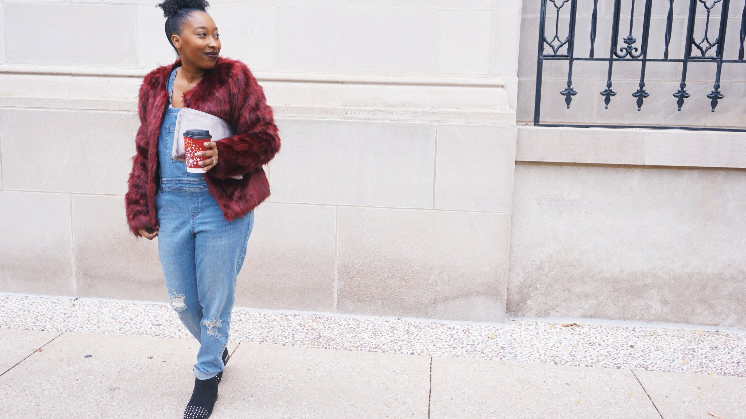 How To Style a Fur Jacket