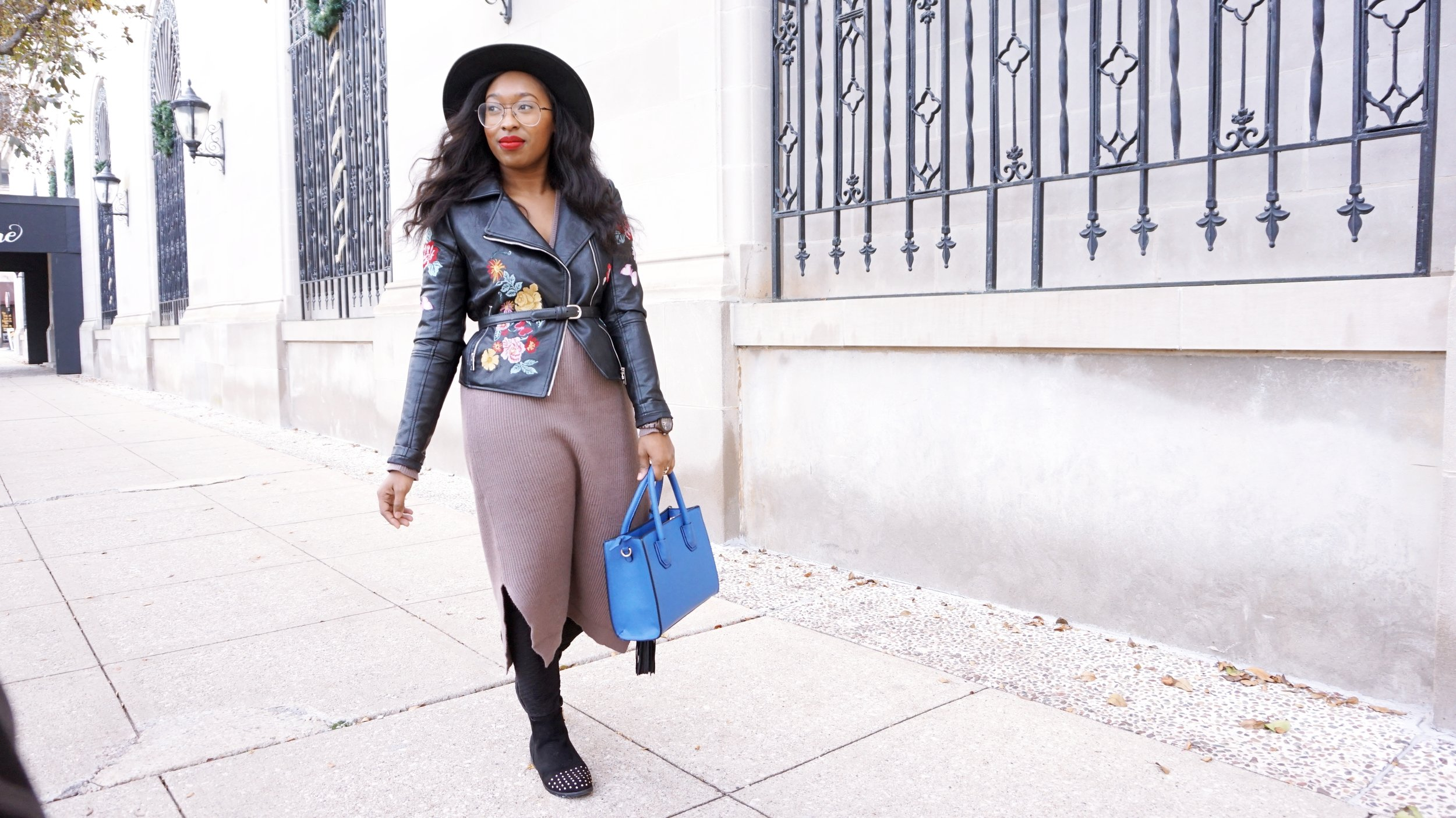 How To Style a Chunky Sweater Dress
