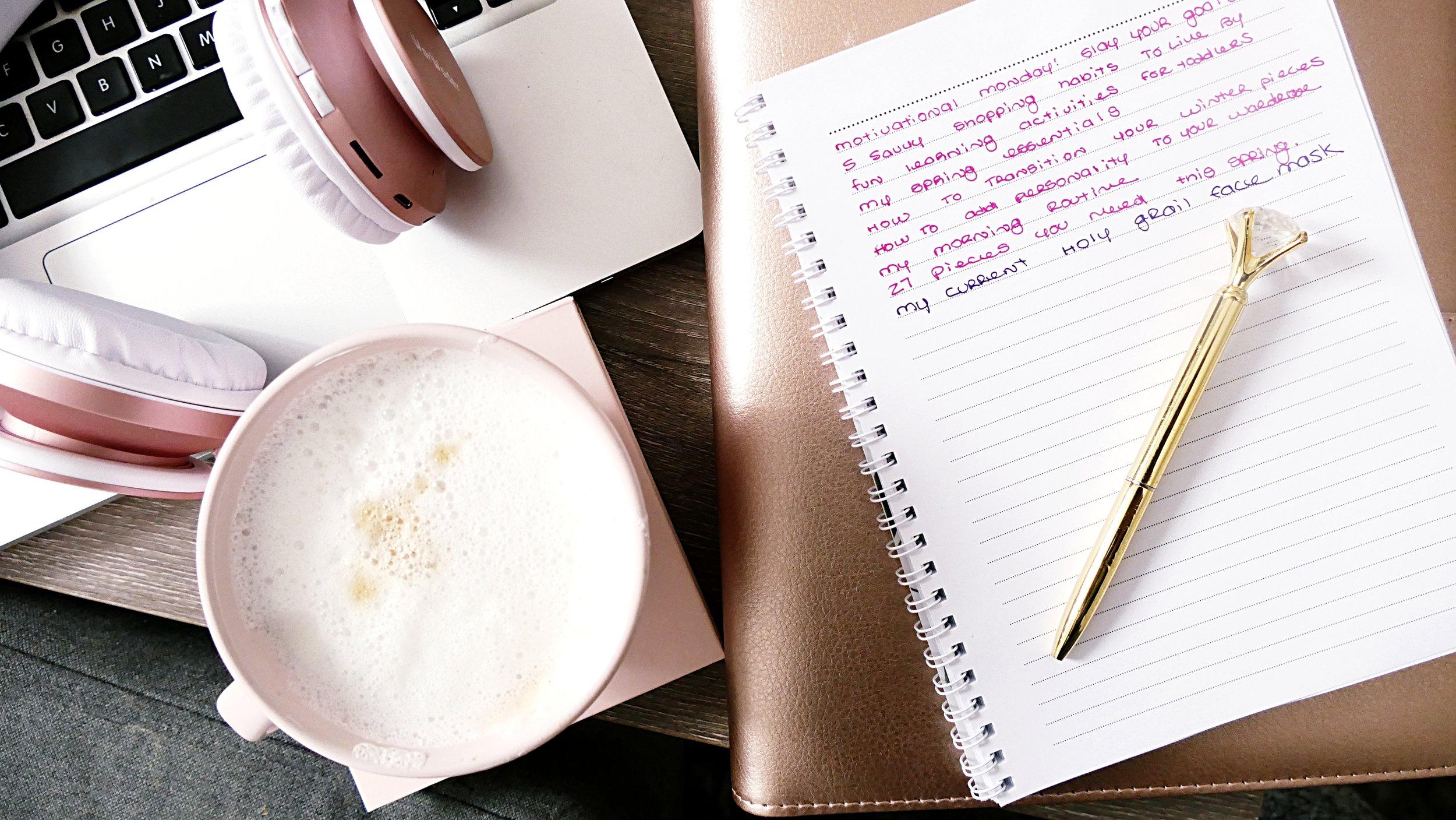 How I Plan Blog Content