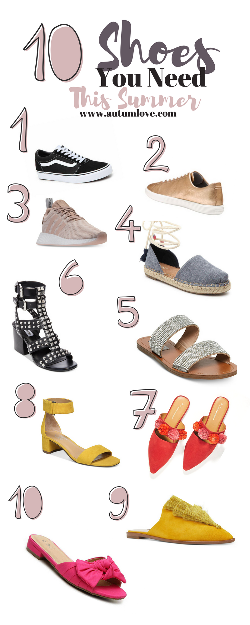summer shoes you need