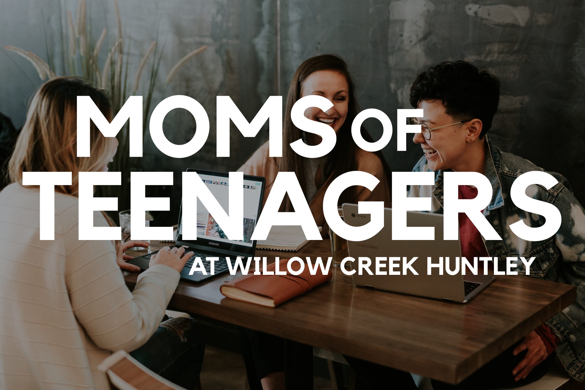 MOMS OF TEENAGERS - Have you ever felt like being the mom of a teenager is the hardest, most frustrating and emotionally trying time you have experienced as a mother?  Us too! Our Moms of Teenagers group will offer Biblical education, emotional support, guidance, and prayer for moms trying to navigate this season.Upcoming:Wednesday | Sept 25 | 7pm | Moms of Teens Social | Willow HuntleyCome join us and get connected with other Moms of Teens prior to our fall launch. This group offers Biblical education, emotional support, guidance, and prayer for moms trying to navigate this season.Contact Jamie at JWombacher@lawgr.com OR Marcie at unfrgtbl@juno.com for more details
