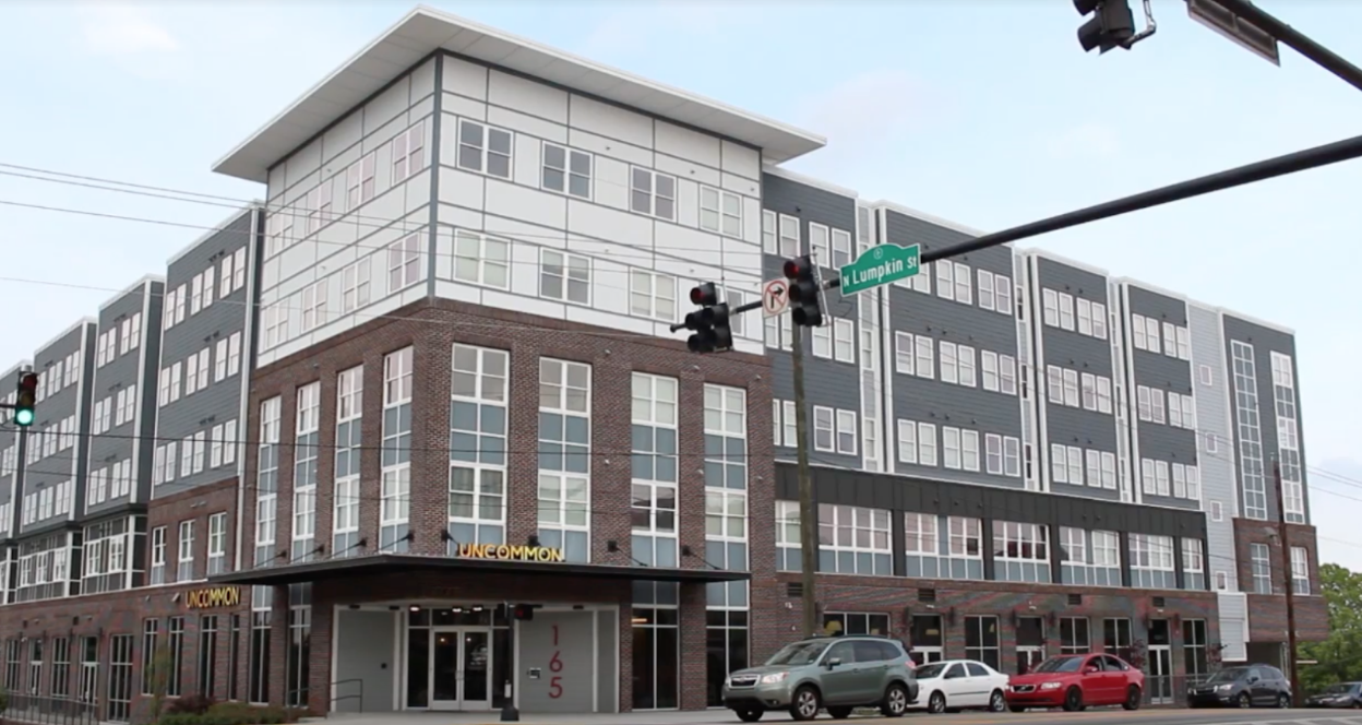 Uncommon is a new luxury student housing development in downtown Athens.